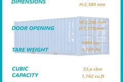 20' DRY Container